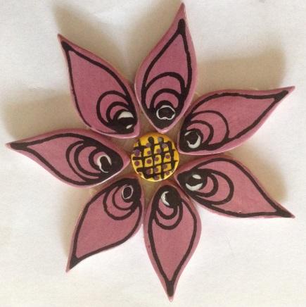 121-flower-on-mesh-110mm-pink