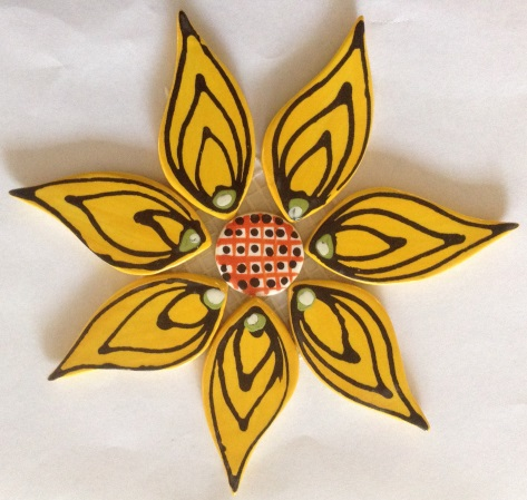 121-flower-on-mesh-110mm-yellow