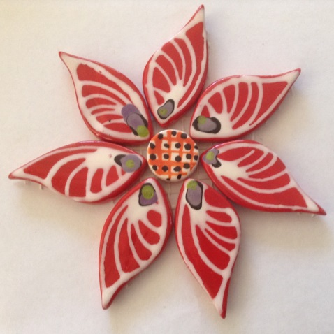 121-flower-on-mesh-110mm-red